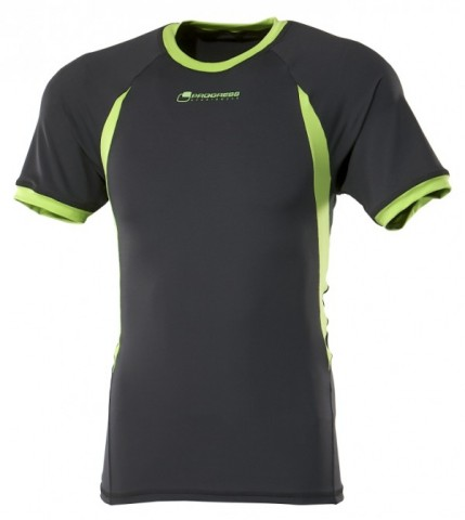 Pánské funkční tričko s krátkým rukávem černé e775e8213d